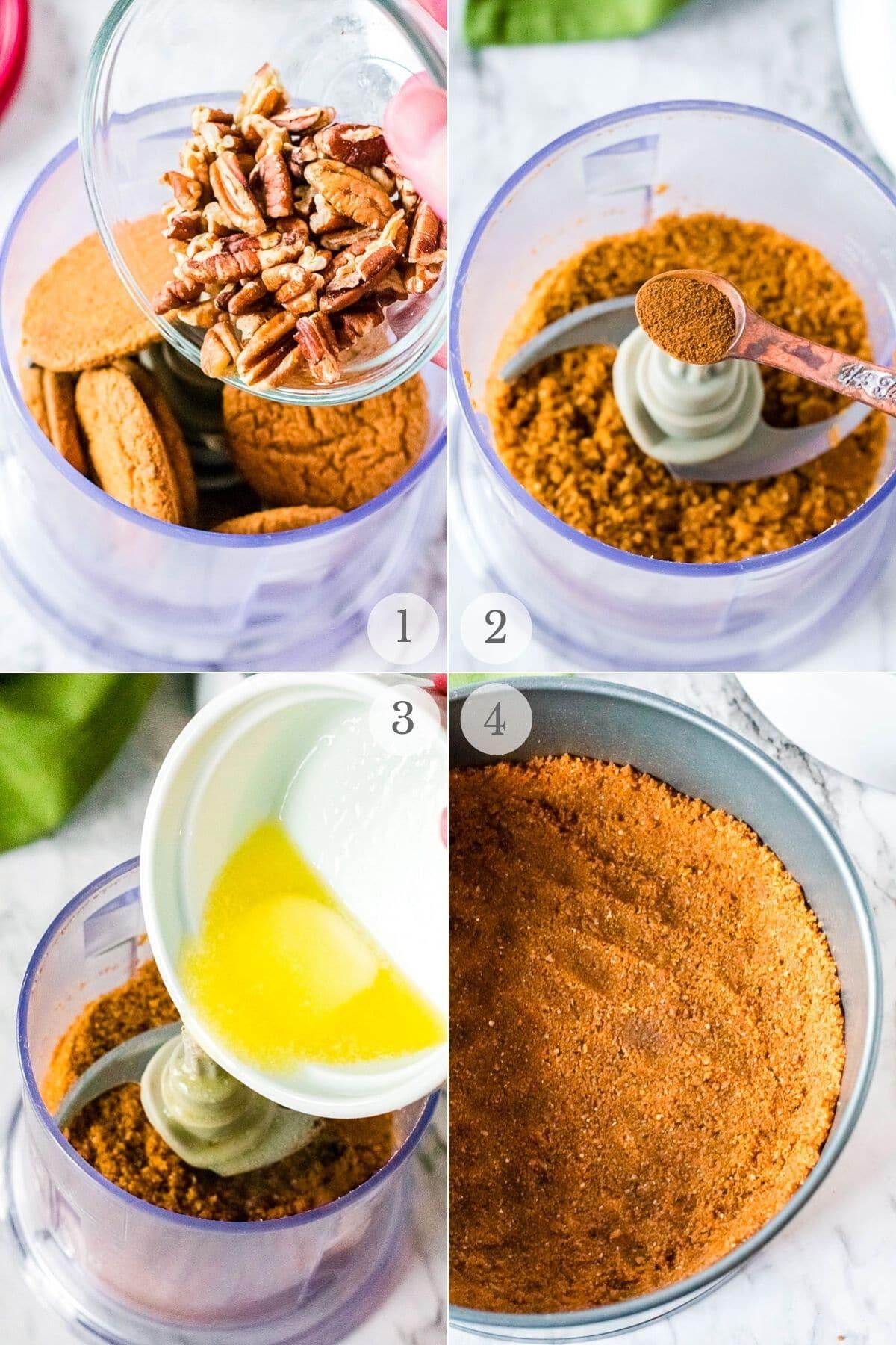 eggnog cheesecake recipes steps 1-4