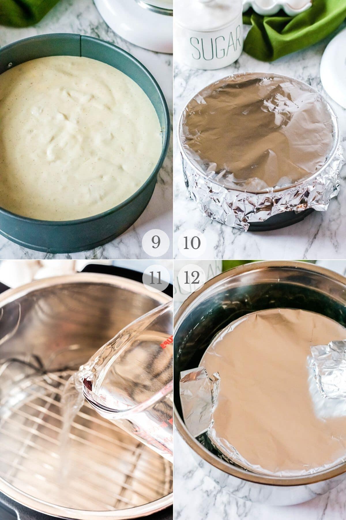 eggnog cheesecake recipes steps 9-12
