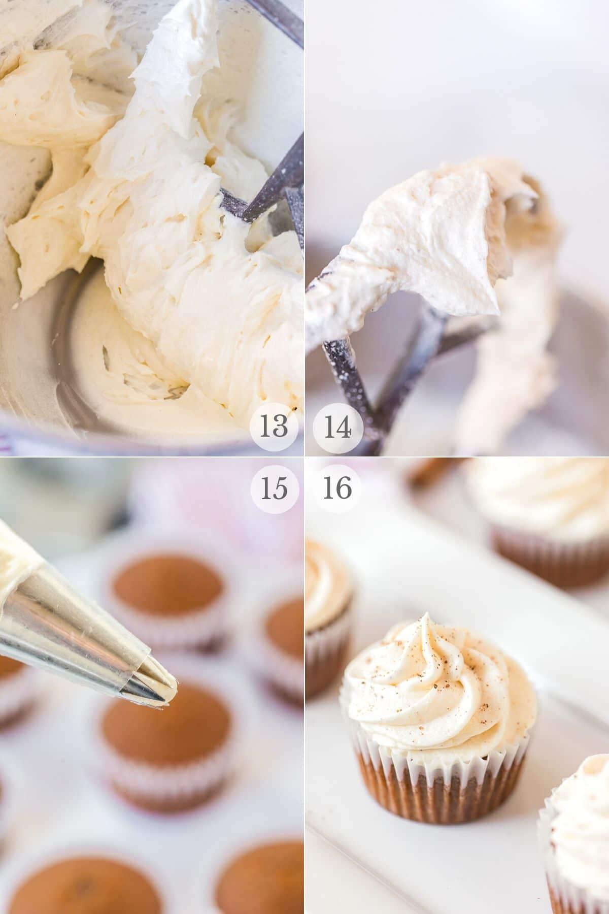 gingerbread cupcakes recipe steps 13-16