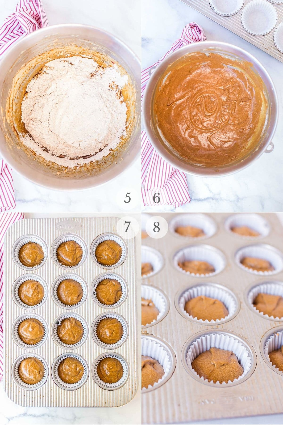 gingerbread cupcakes recipe steps 5-8