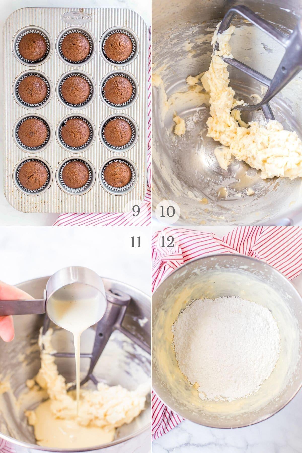 gingerbread cupcakes recipe steps 9-12