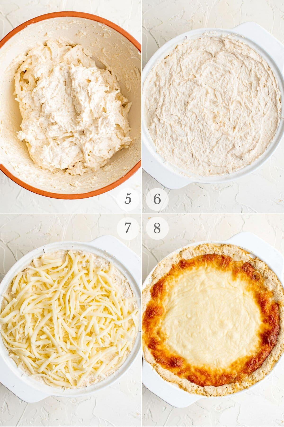 hot crab dip recipe steps 5-8
