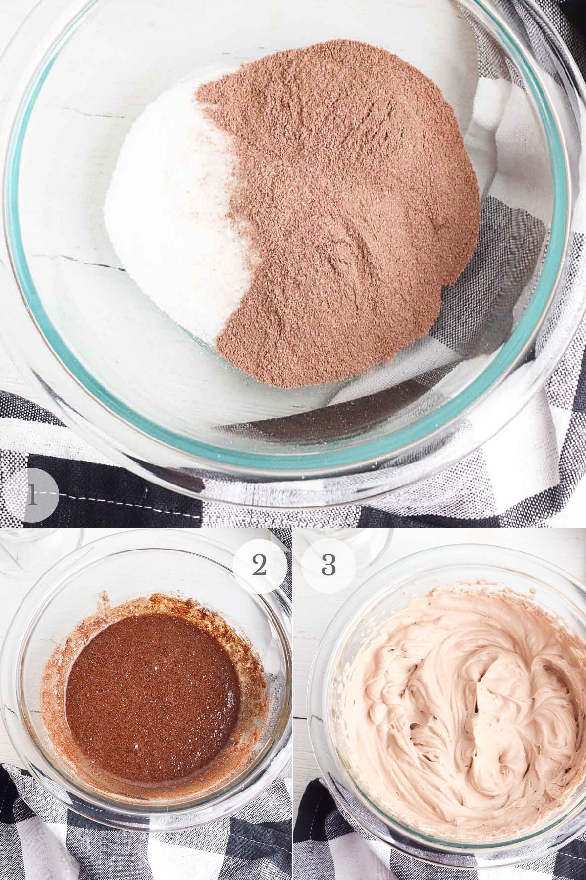 whipped hot chocolate recipe steps 1-3