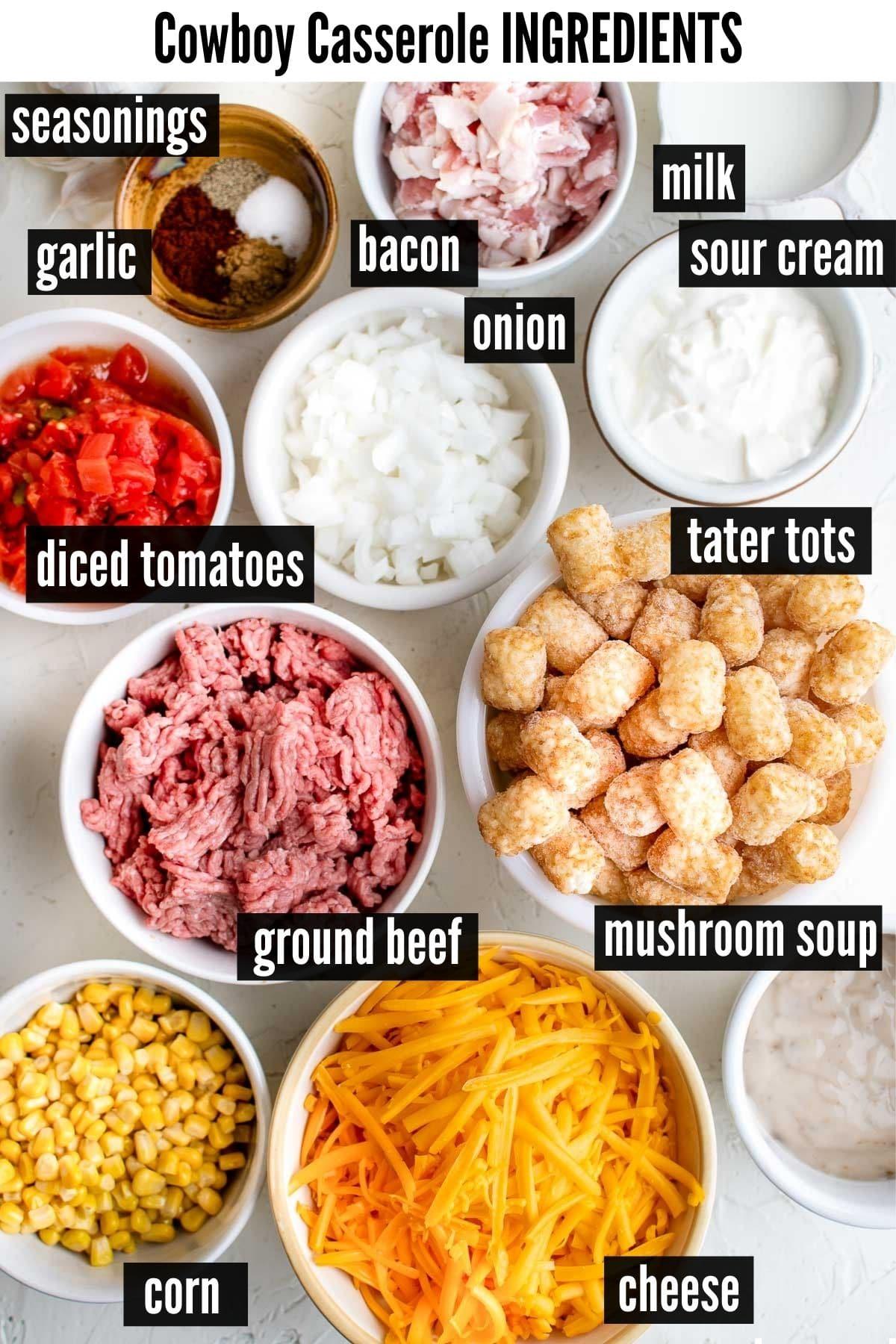 cowboy casserole ingredients