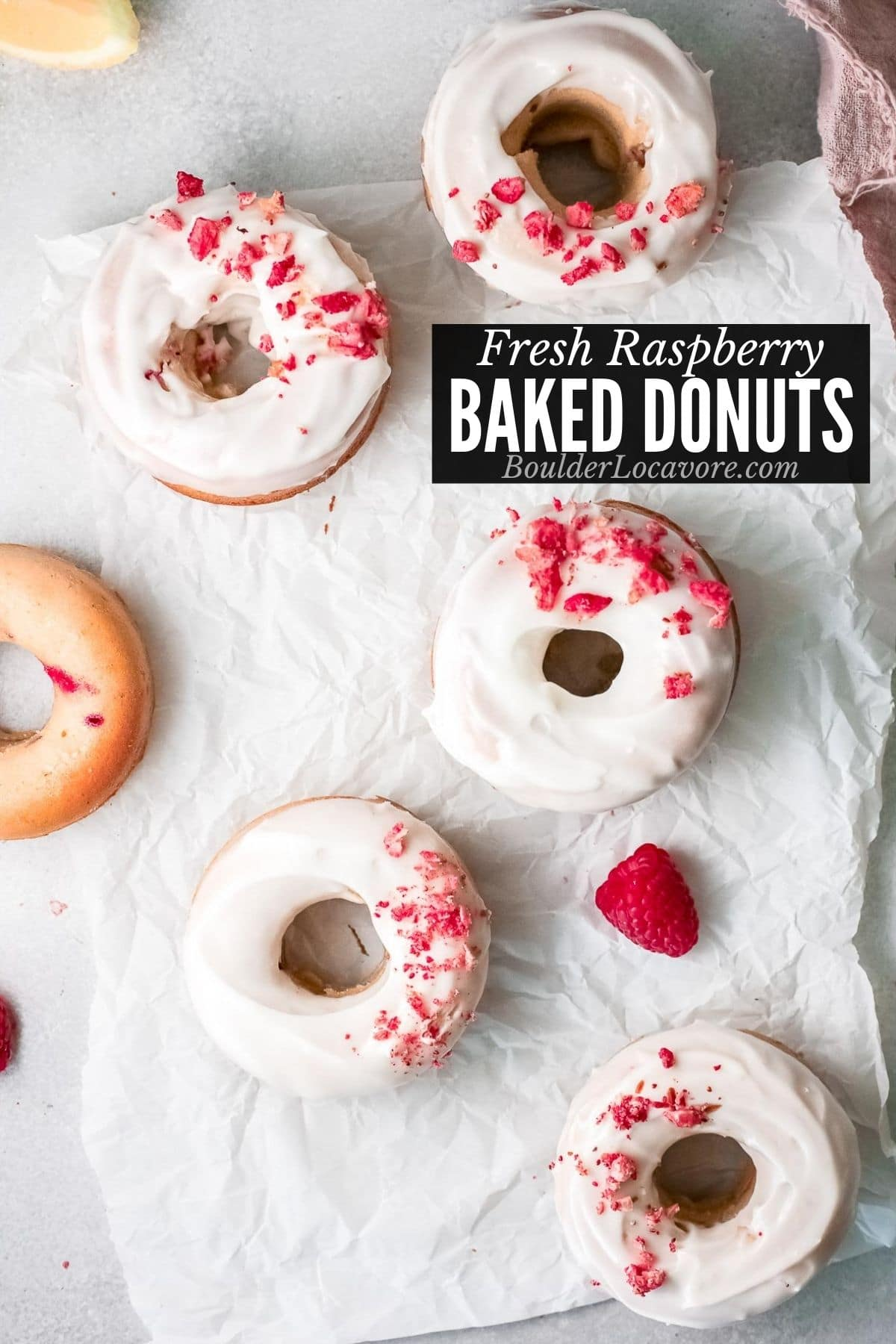 BAKED DOUGHNUTS TITLE IMAGE