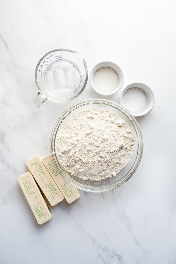 all butter pie crust ingredients