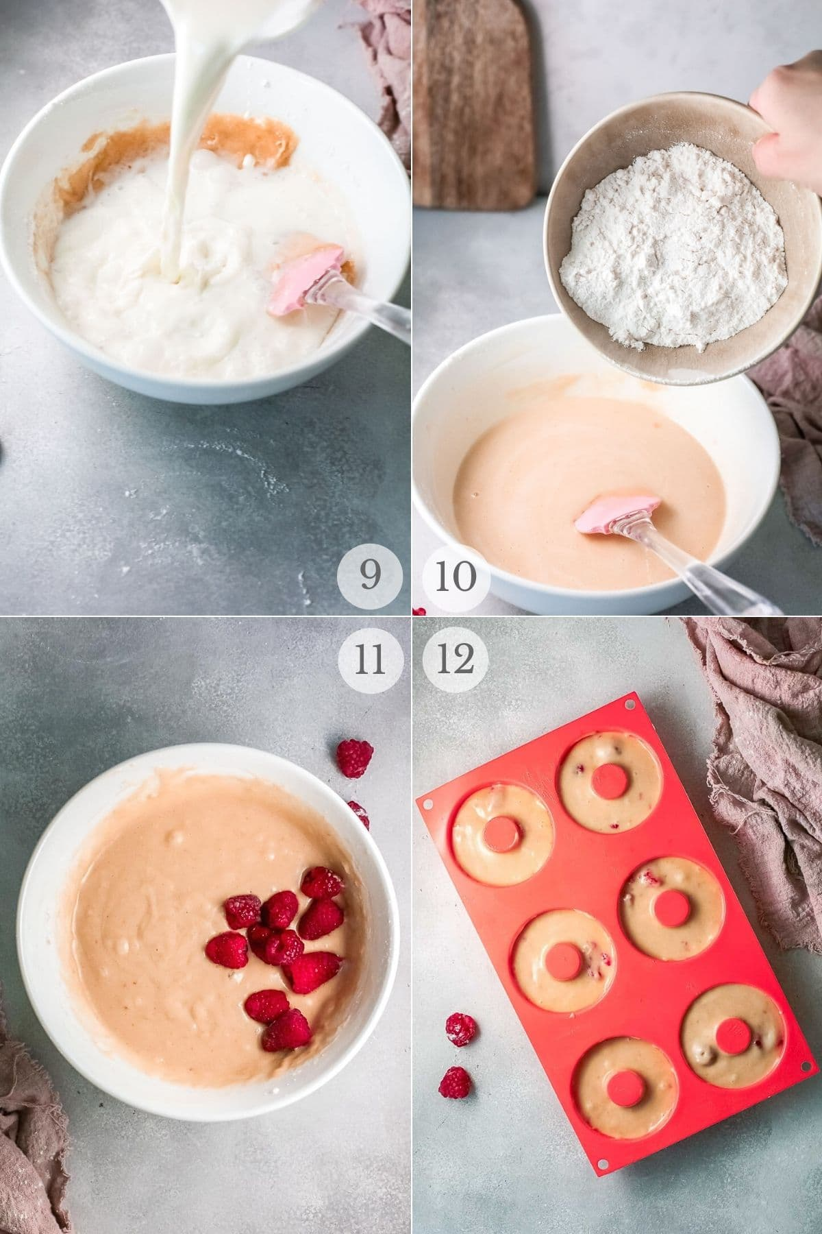 baked donuts recipe steps 9-12