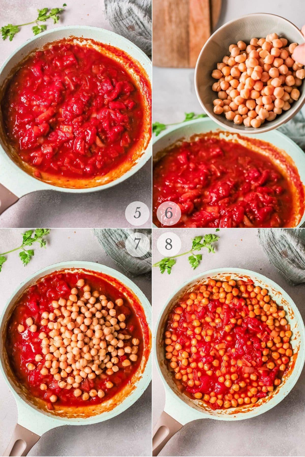 chana masala recipe steps 5-8
