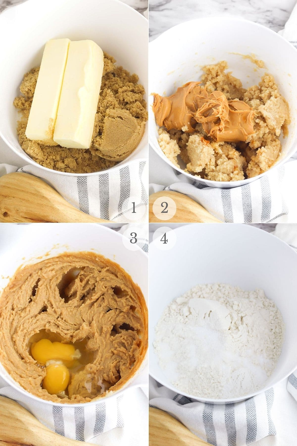 peanut-butter-chocolate-chip-cookies-recipe-steps-1-4