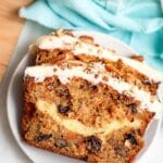 CARROT CAKE LOAF TITLE