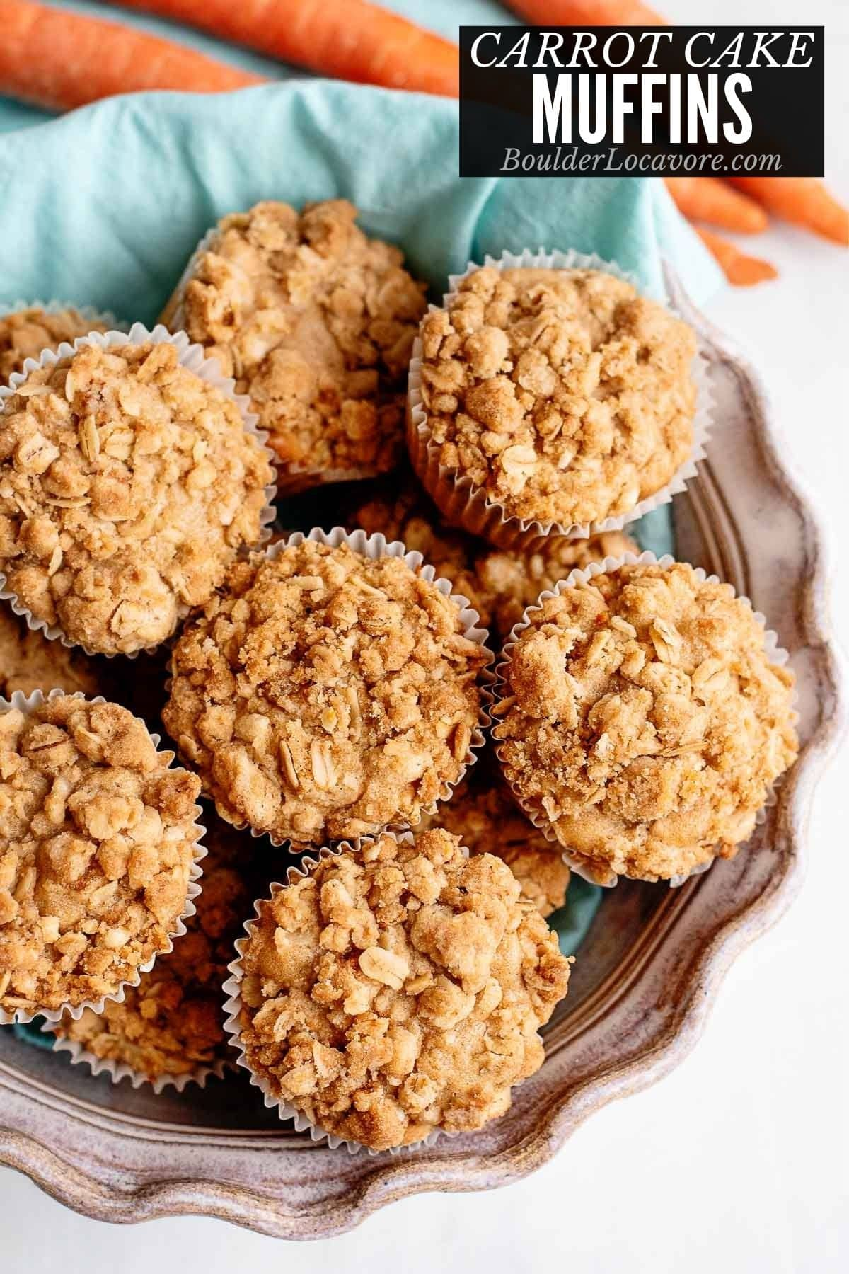 CARROT CAKE MUFFINS TITLE