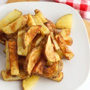 air fryer potato wedges sq