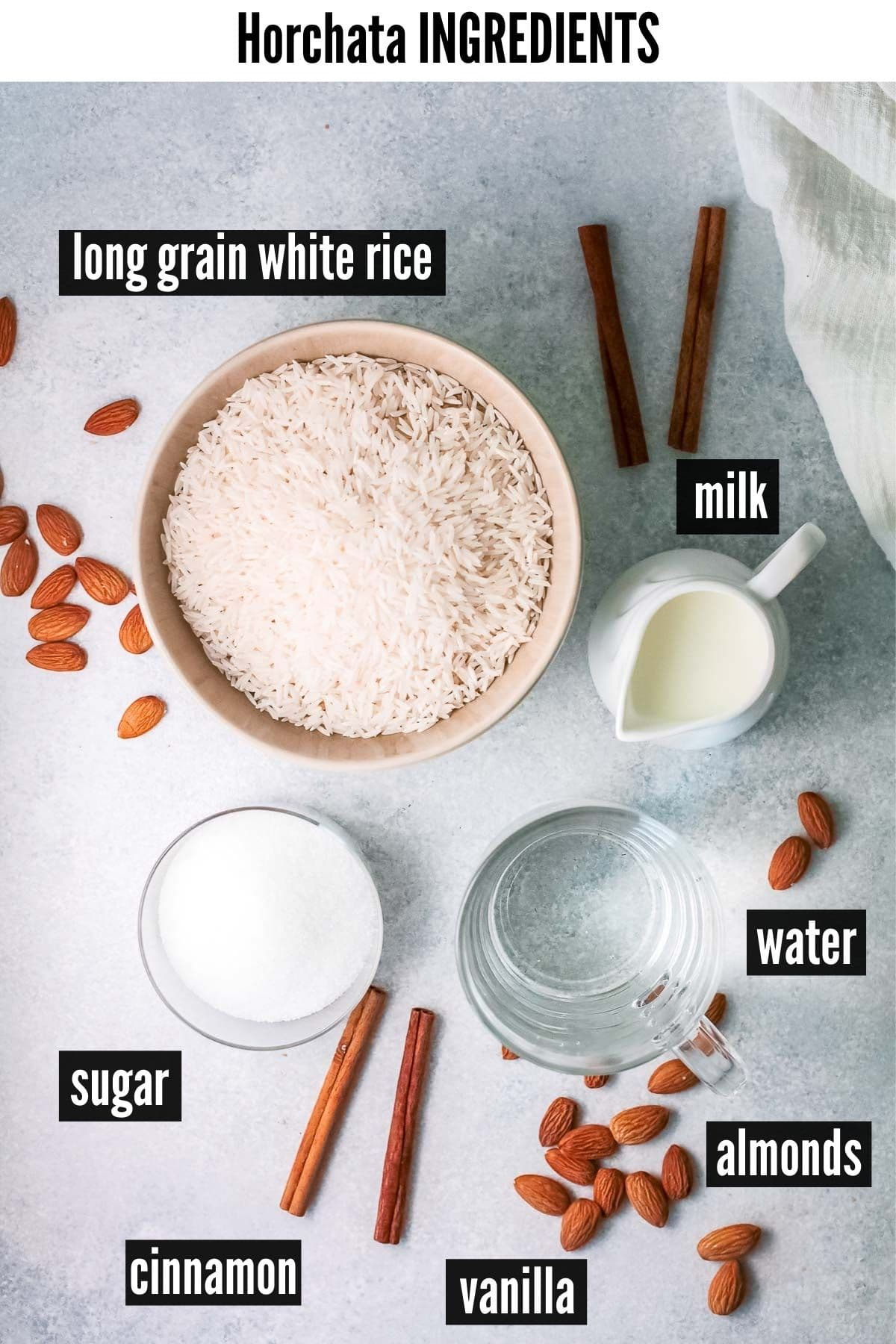 horchata ingredients