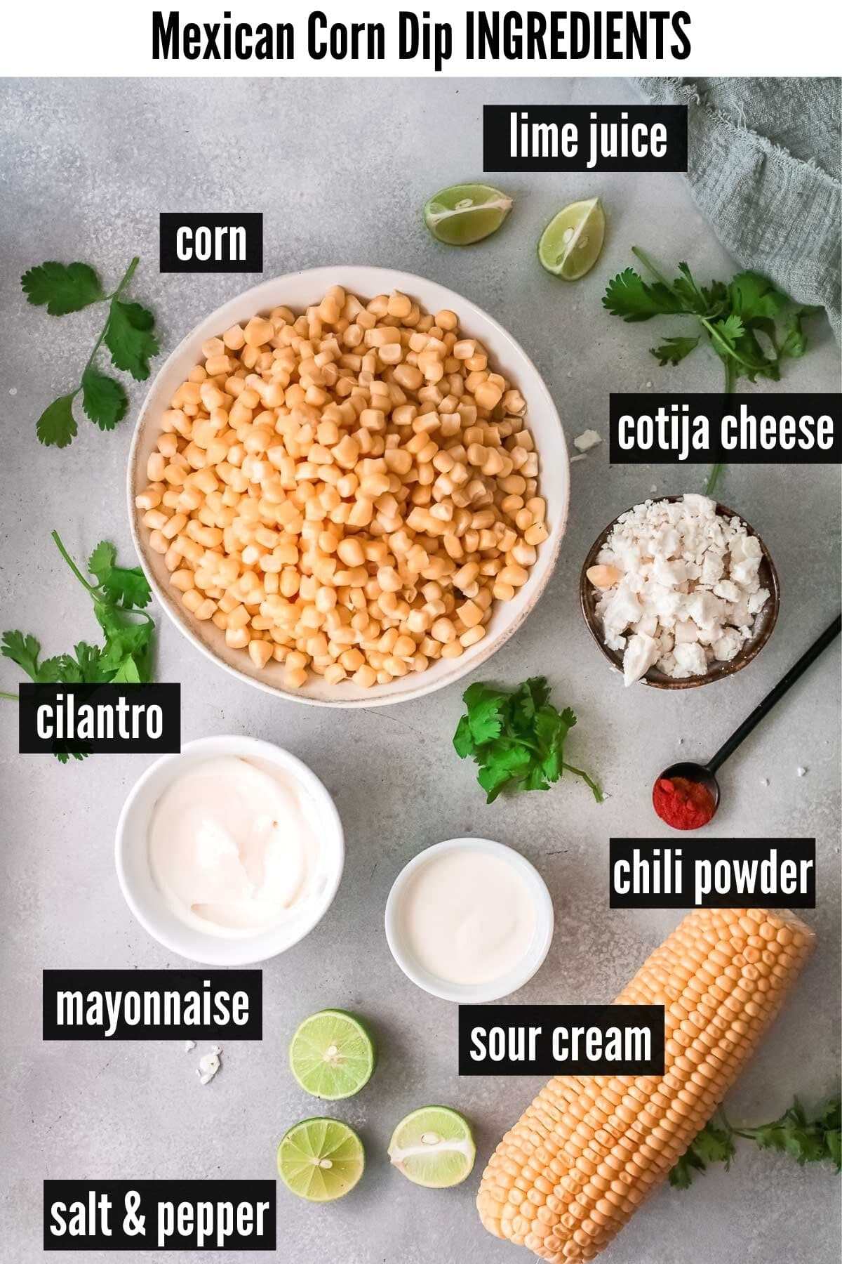 mexican corn dip ingredients