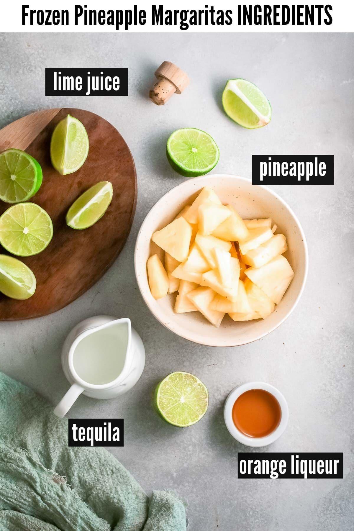 pineapple margarita ingredients
