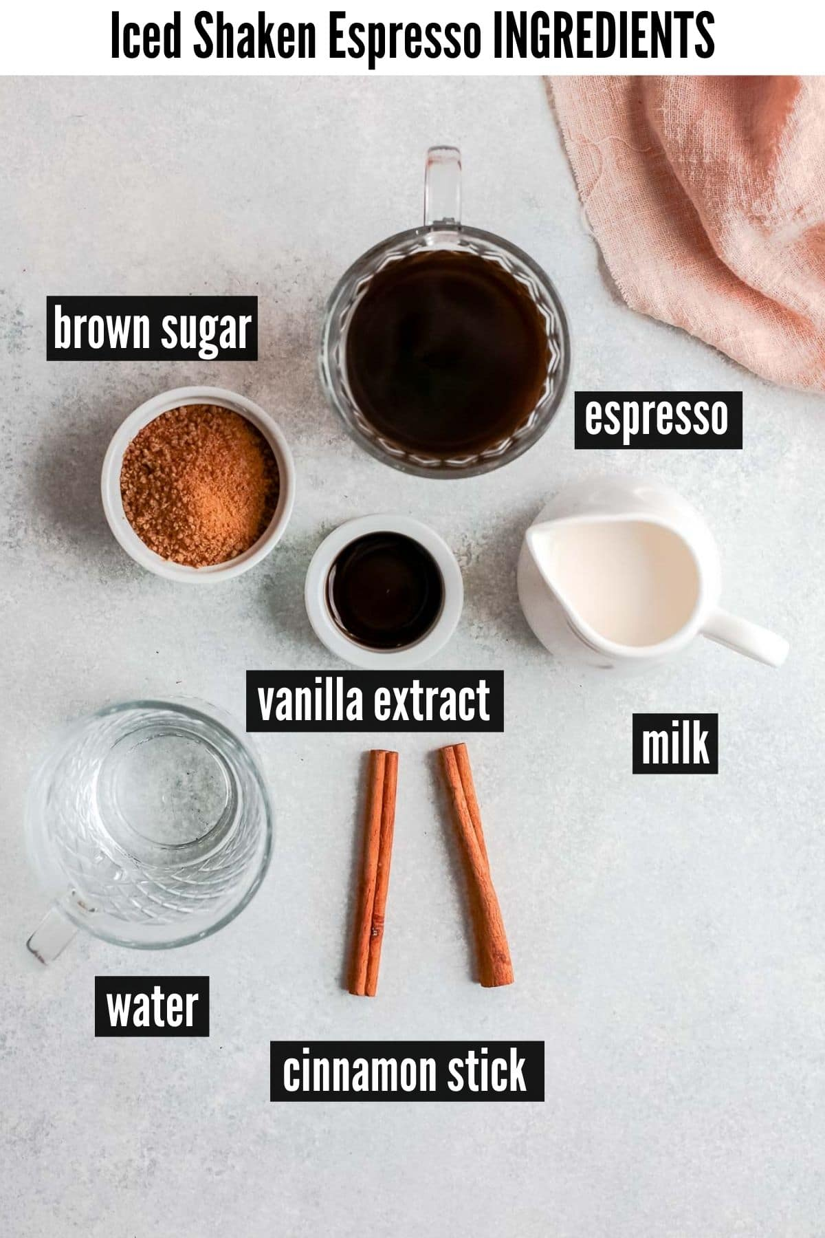 shaken espresso ingredients