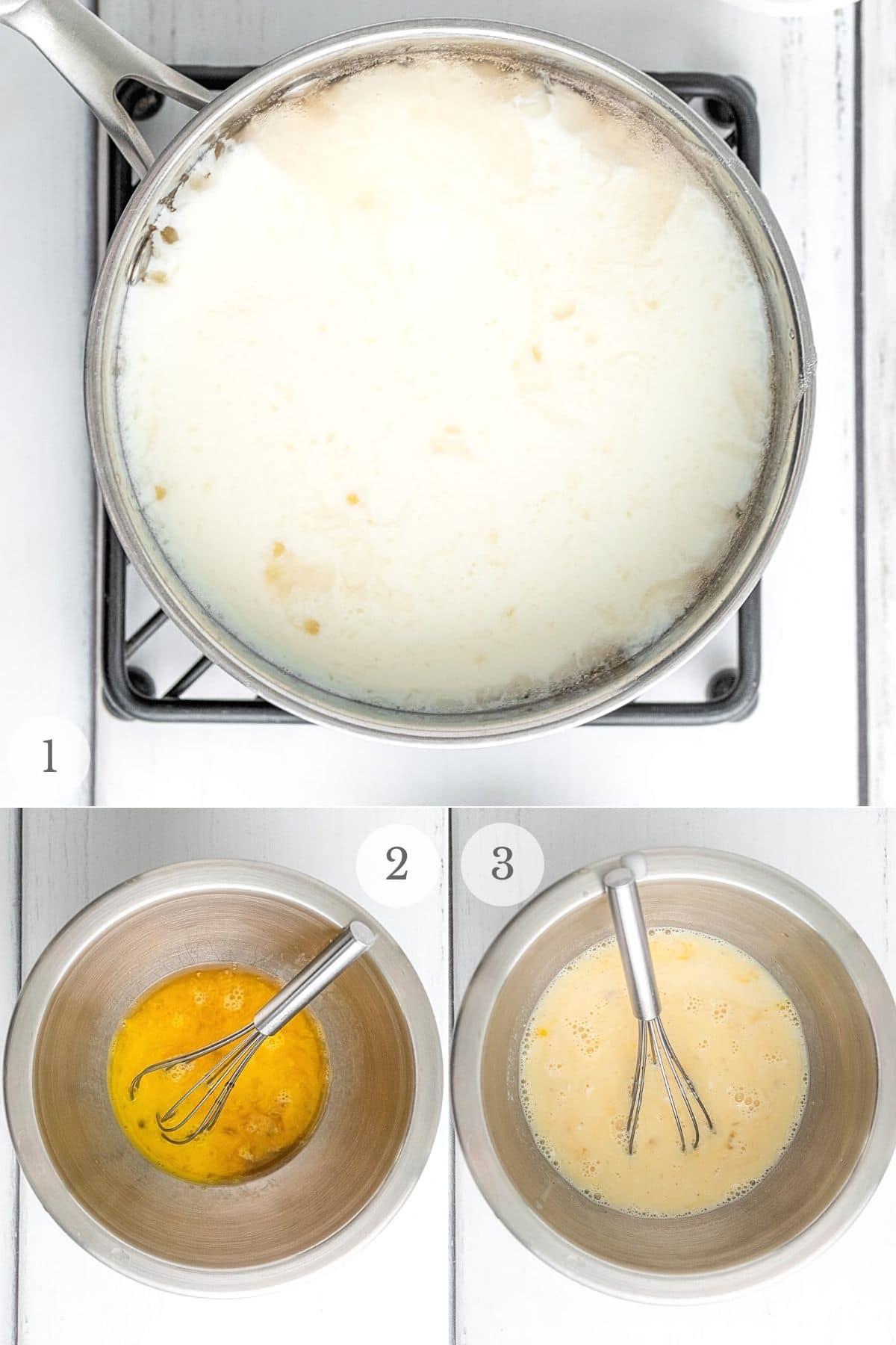 tapioca pudding recipe steps 1-3