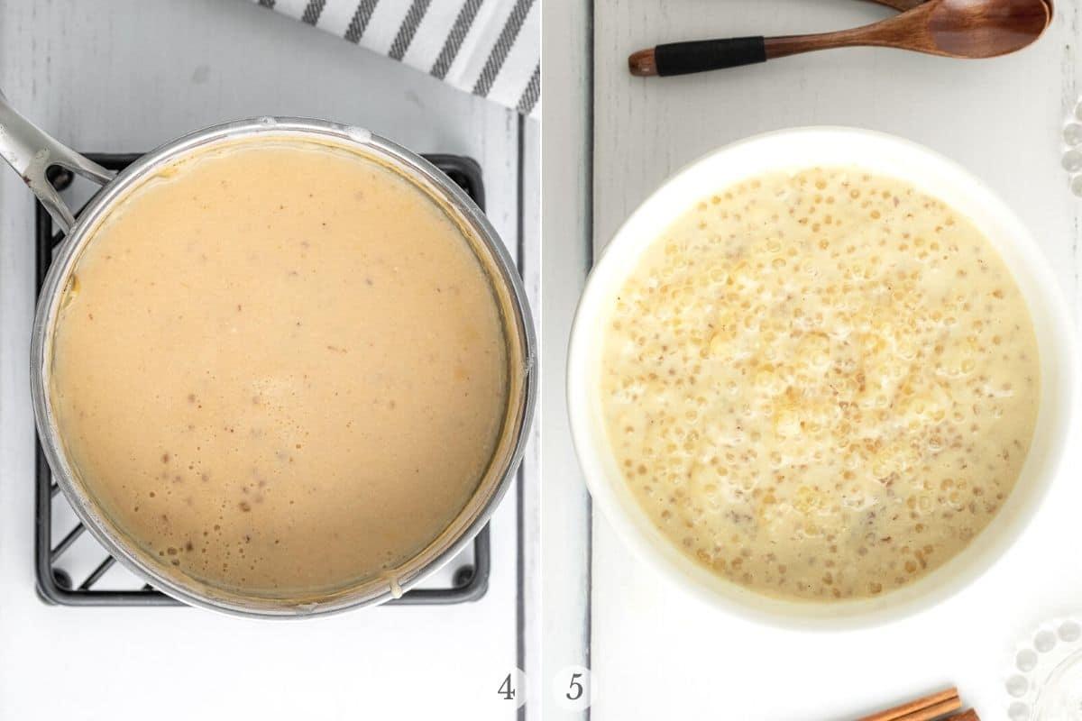 tapioca pudding recipe steps 4-5
