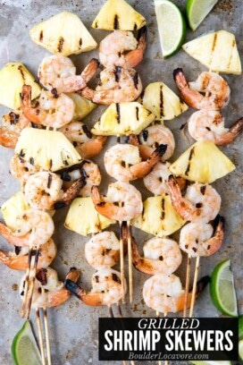 GRILLED SHIRMP SKEWERS TITLE