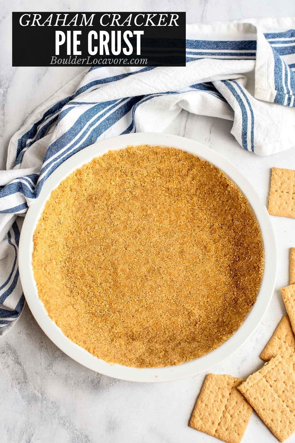 Graham Cracker crust title