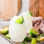 frozen caipirinha cocktail title