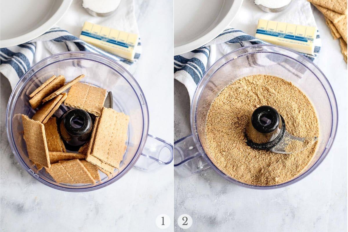 making graham cracker crumbs