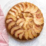 PEACH UPSIDE DOWN CAKE TITLE