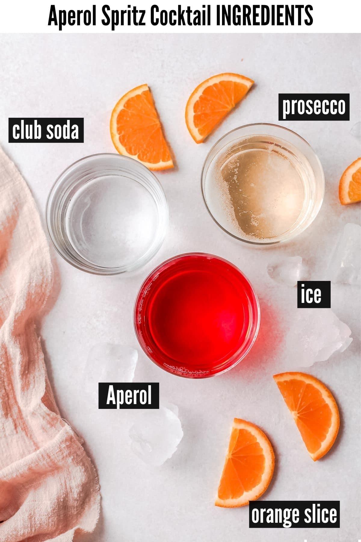 aperol spritz cocktail ingredients