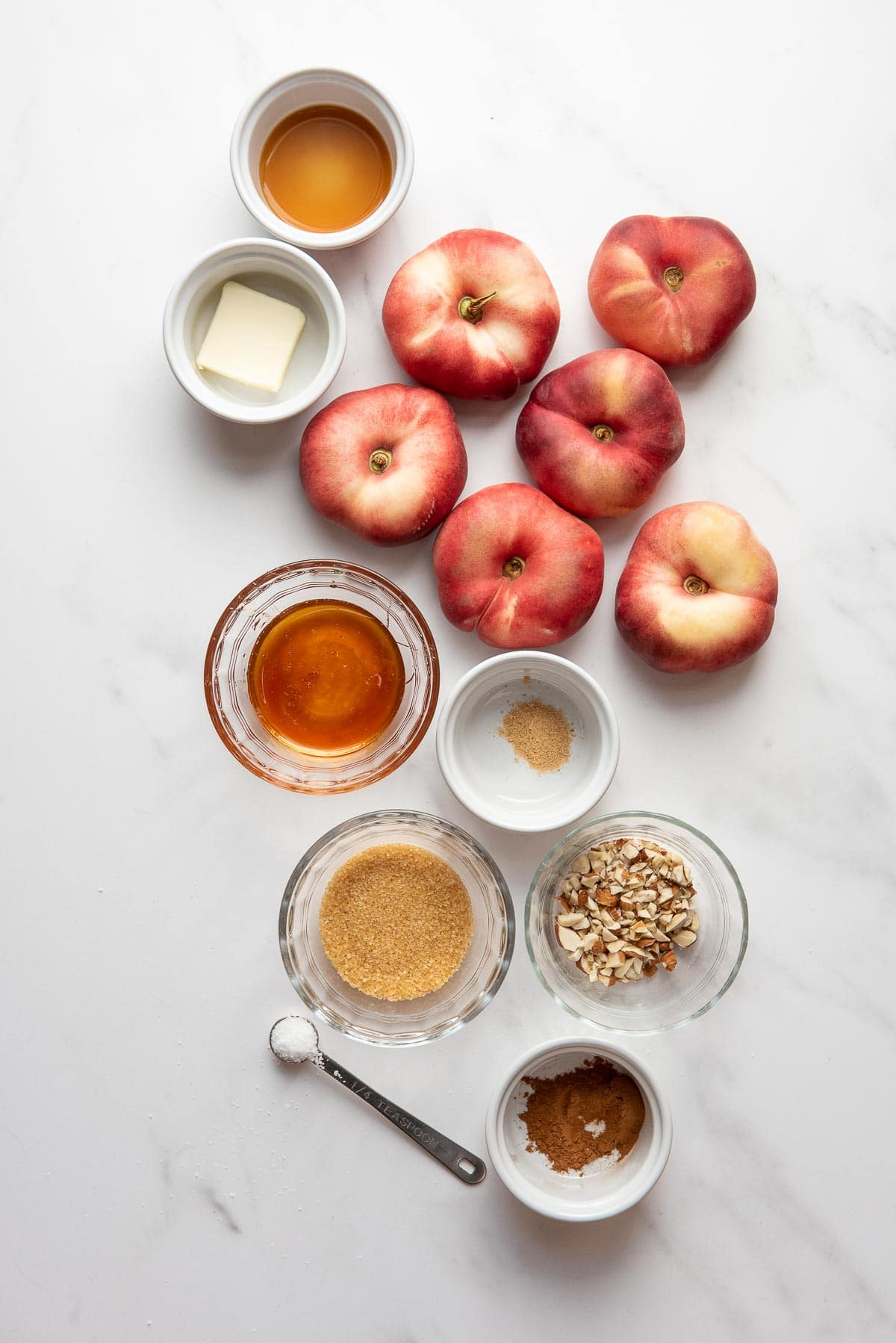 baked donut peaches ingredients