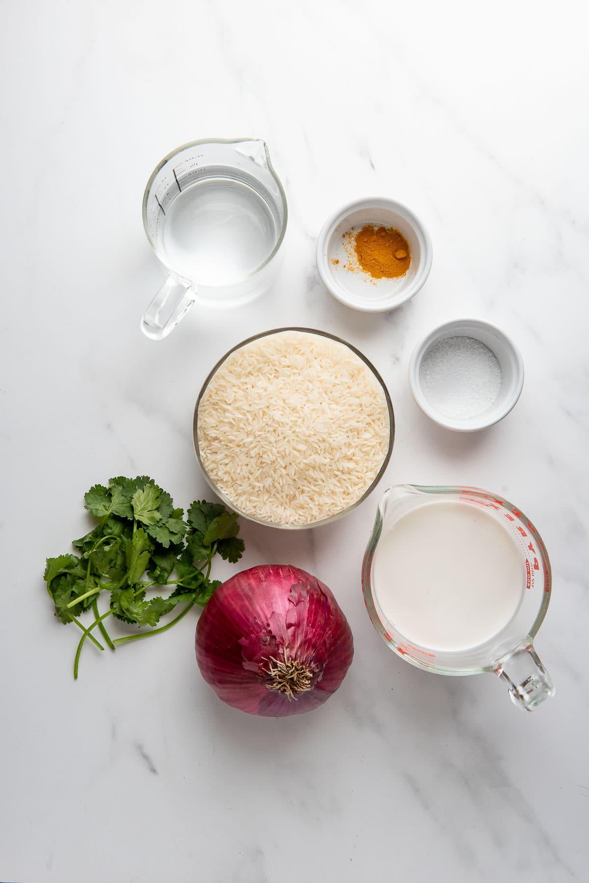 coconut rice ingredients