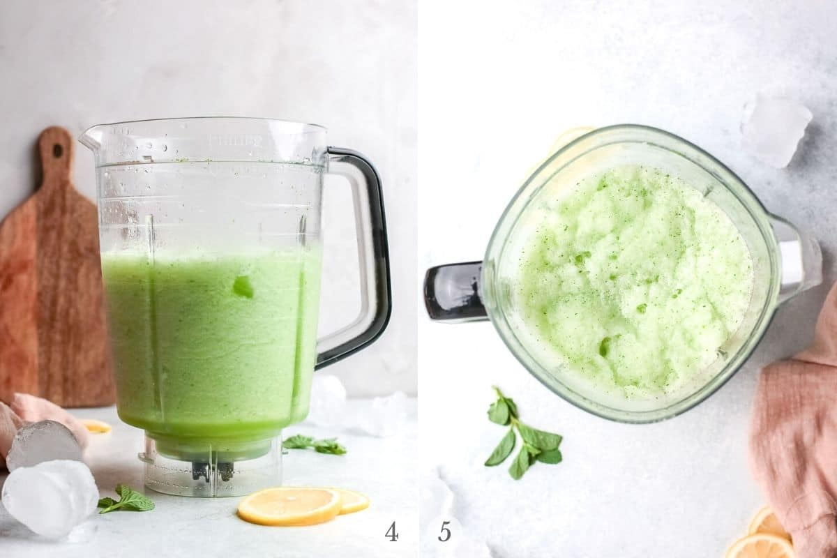 limonana recipe steps 4-5