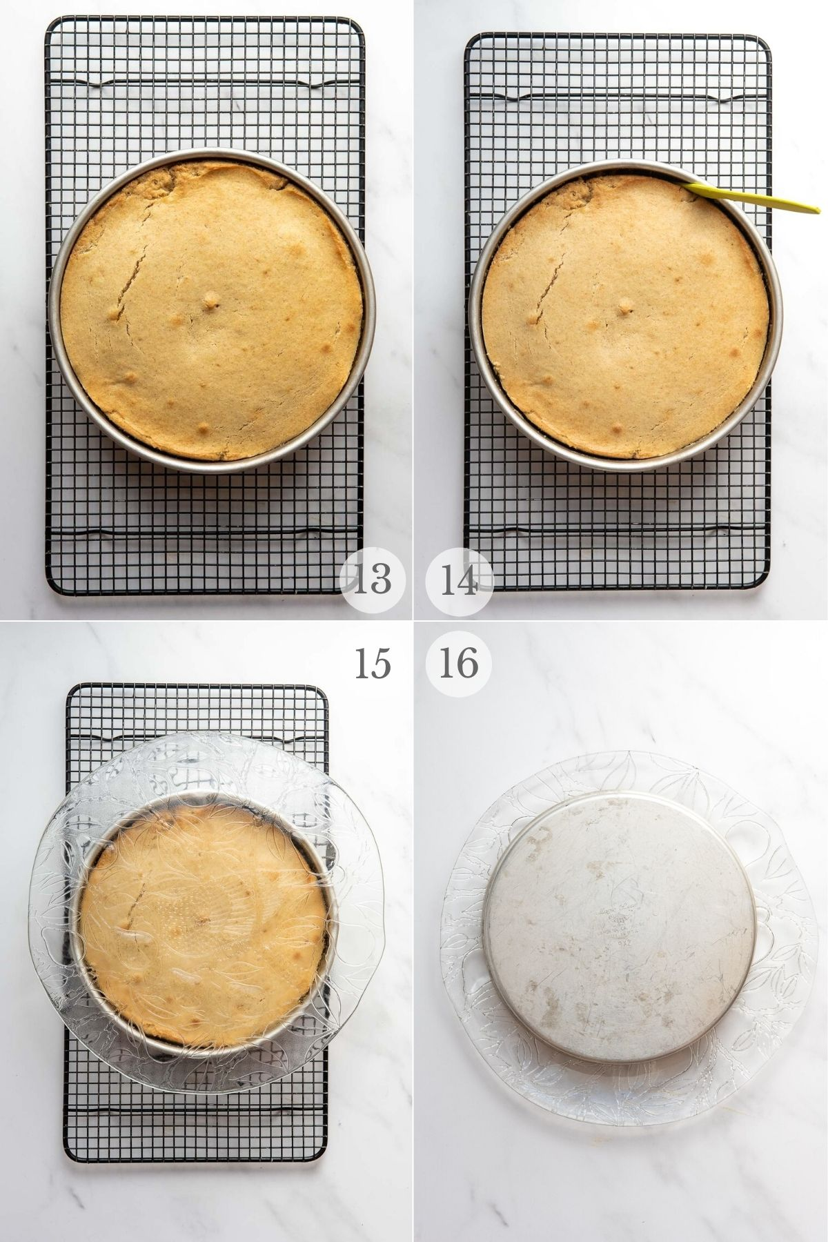 peach upside down cake recipe steps 13-16