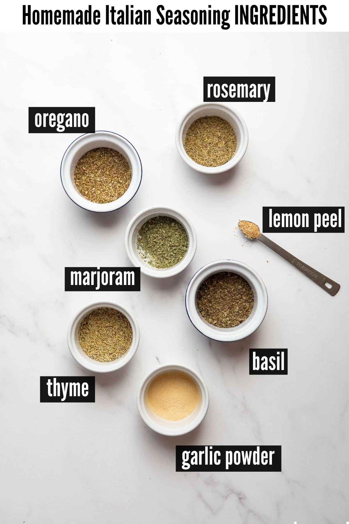 Italian seasoning blend ingredients