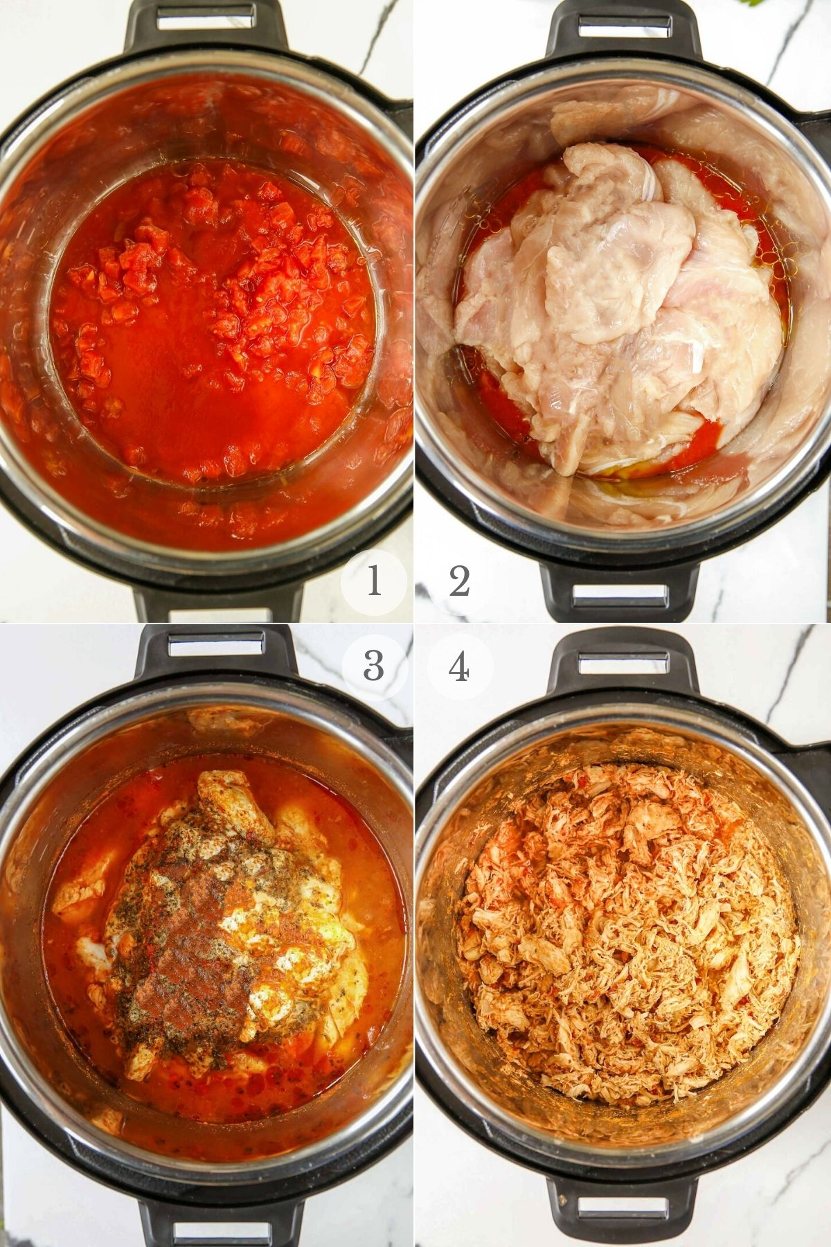 chicken parmesan sliders recipes steps 1-4a