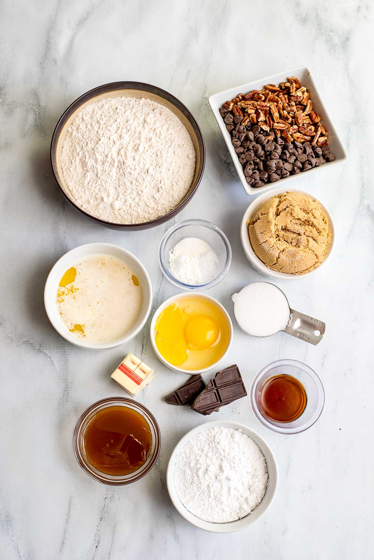 cookie cake ingredients