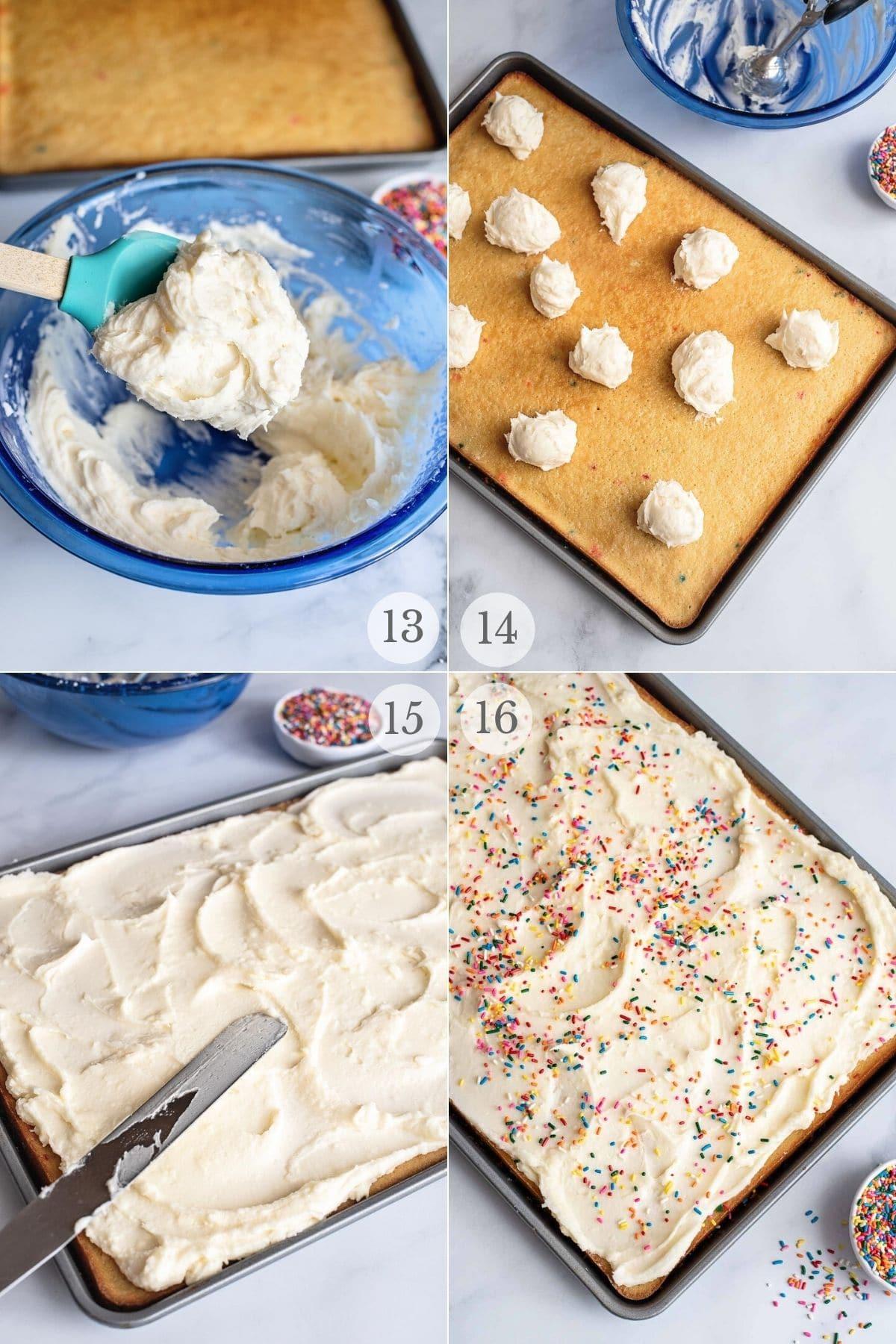 funfetti cake recipe steps 13-16