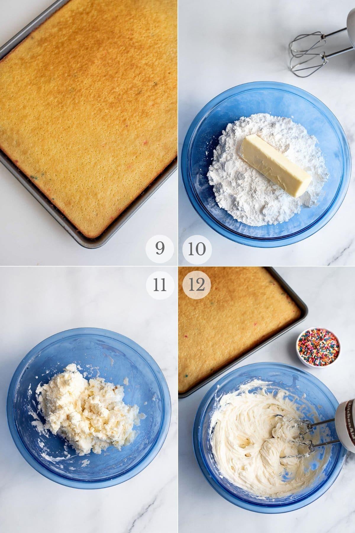 funfetti cake recipe steps 9-12