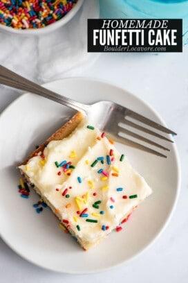 funfetti cake title