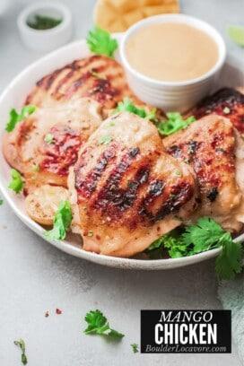 mango chicken title