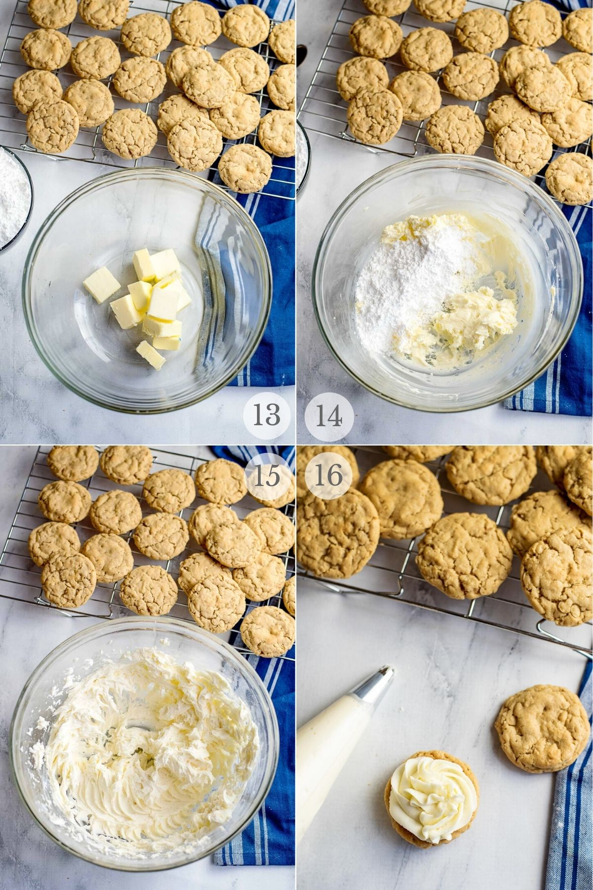 peanut butter oatmeal cookies recipes steps 13-16a