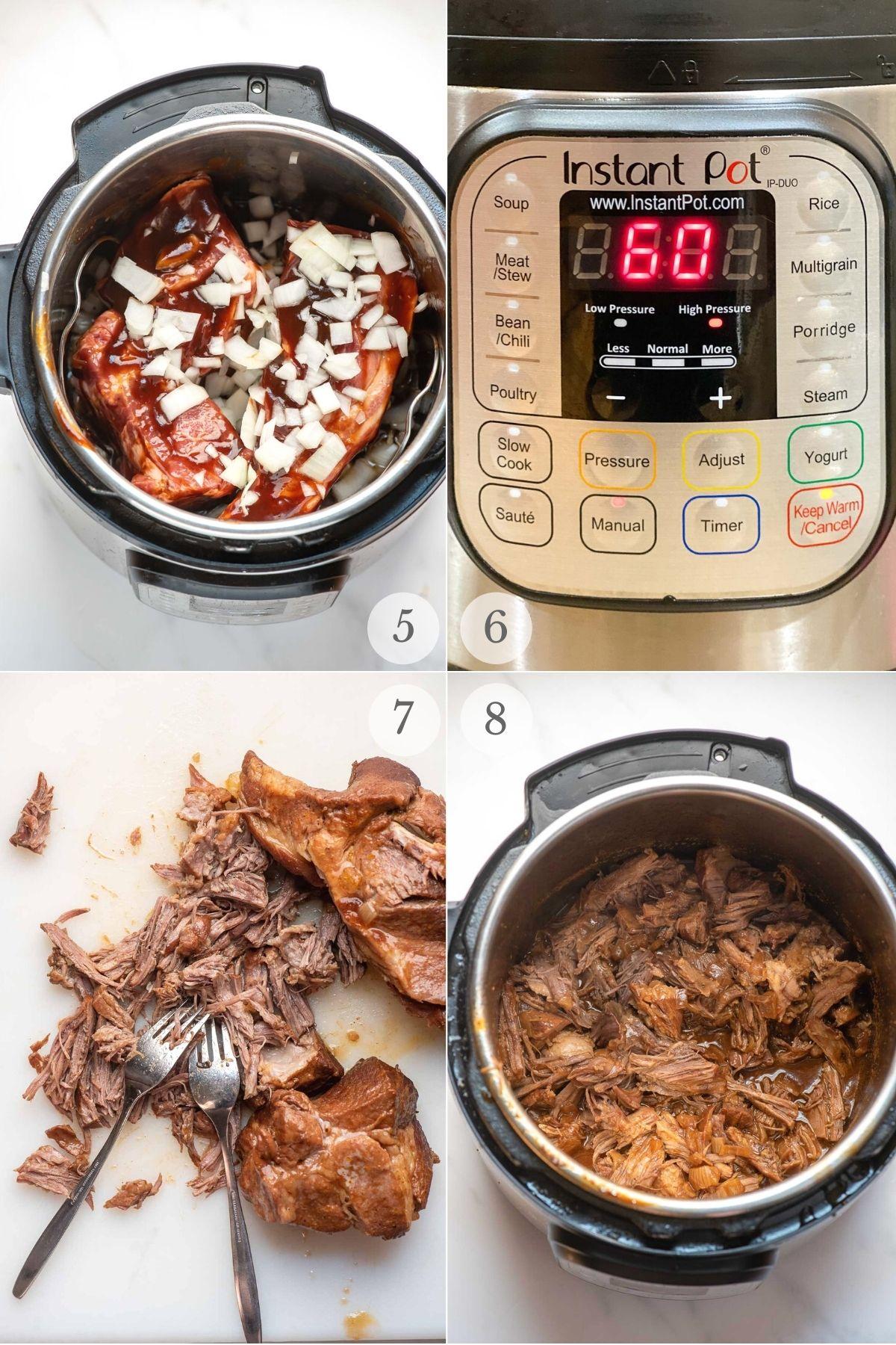 root beer pulled pork recipe steps 5-8