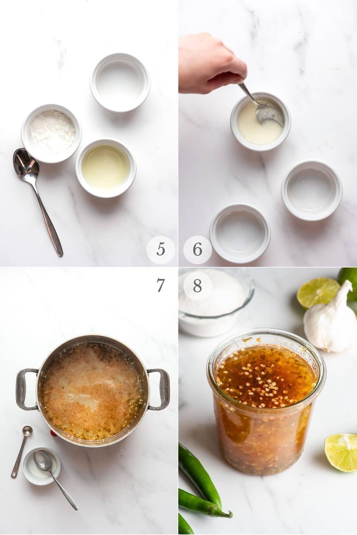thai sweet chili sauce recipe steps 5-8