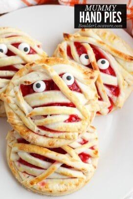 Mummy Cherry Hand Pies title image
