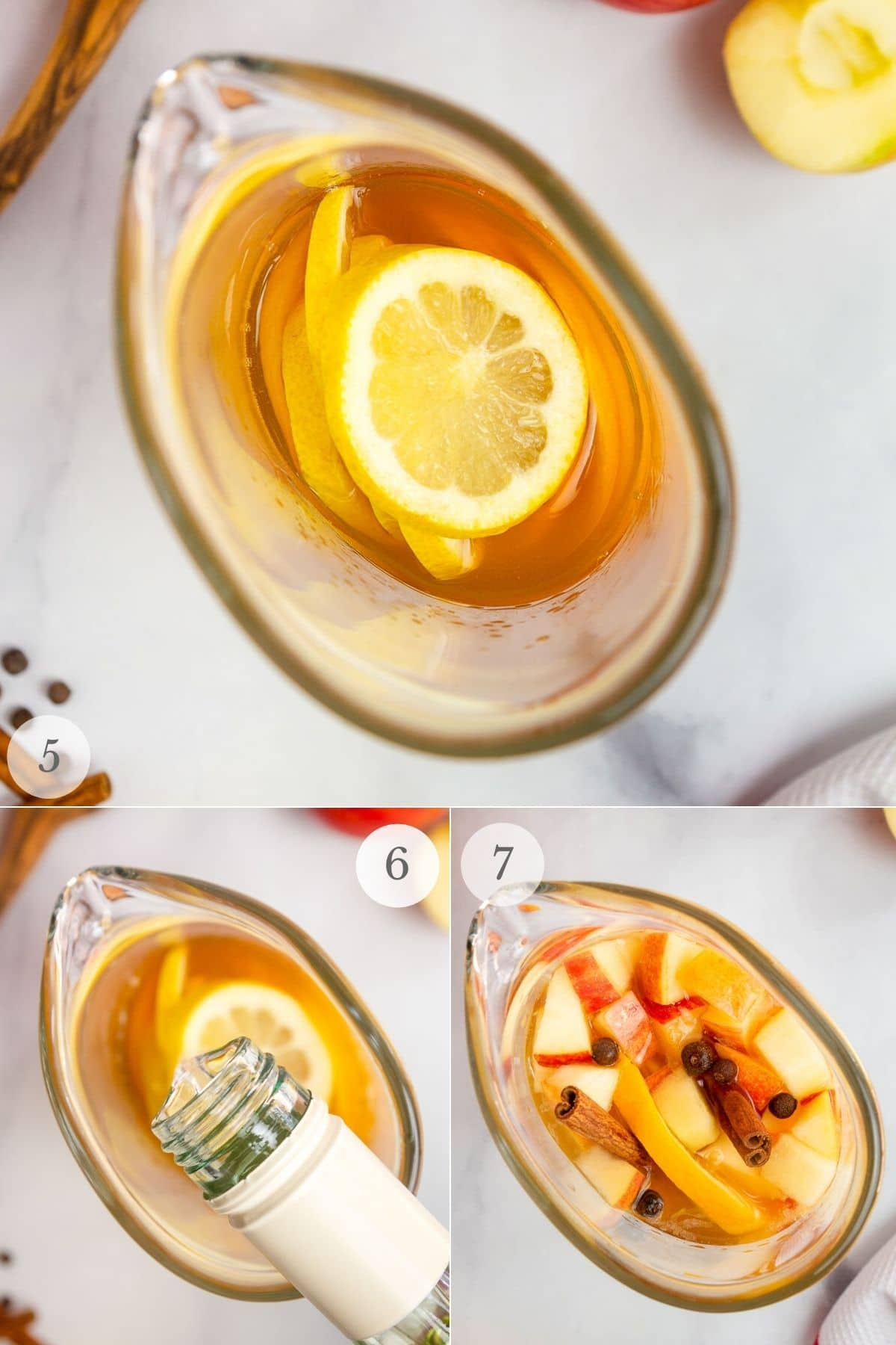 apple cider sangria recipe steps 5-7