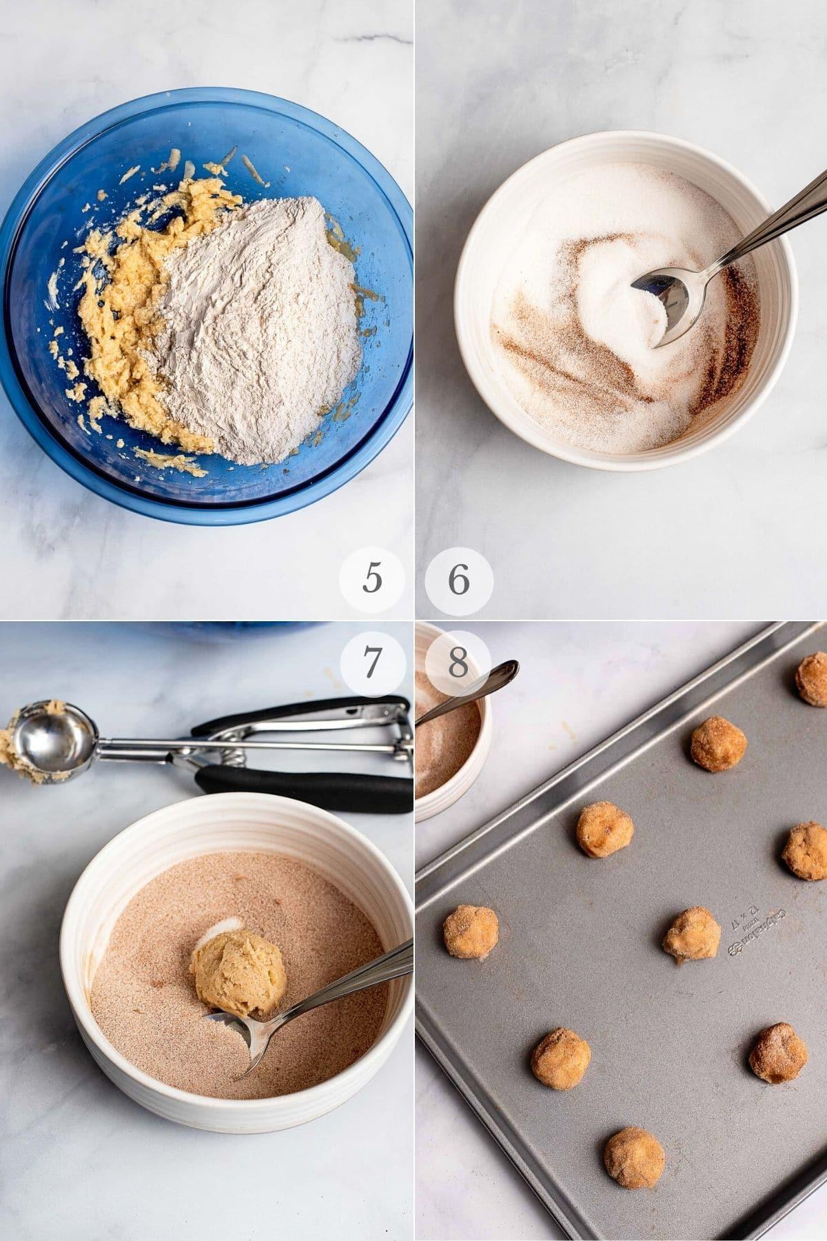 apple cookies recipe steps 5-8