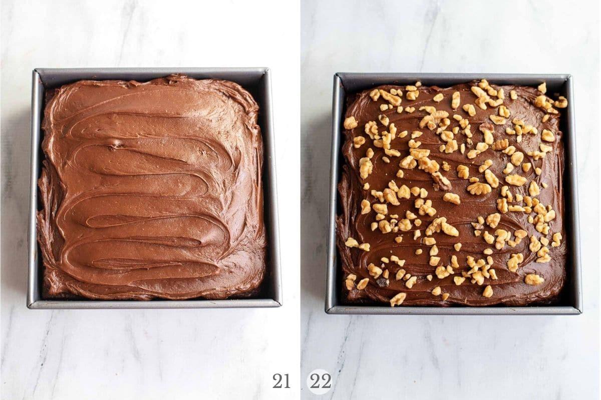 chocolate cherry cake recipe steps 21-22