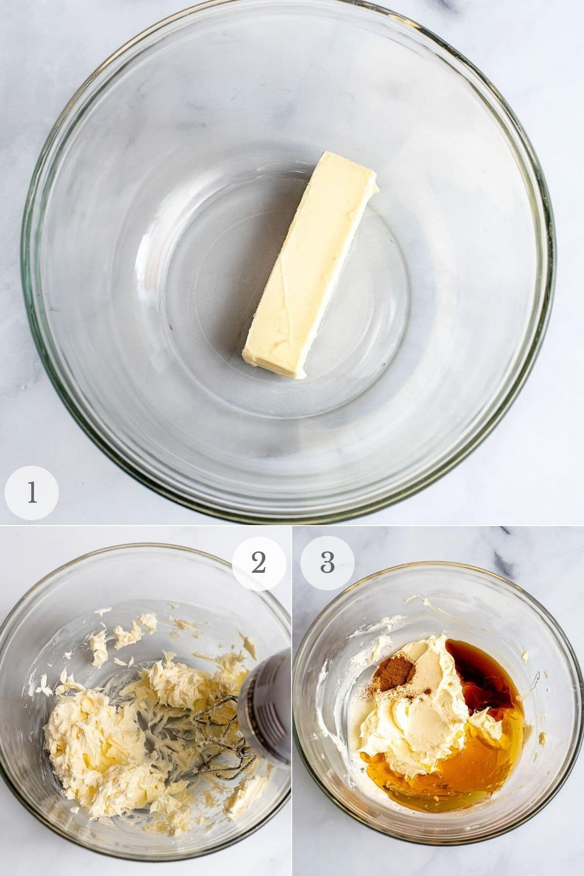 honey butter recipe steps 1-3
