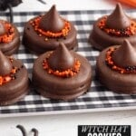 witch hat cookies title