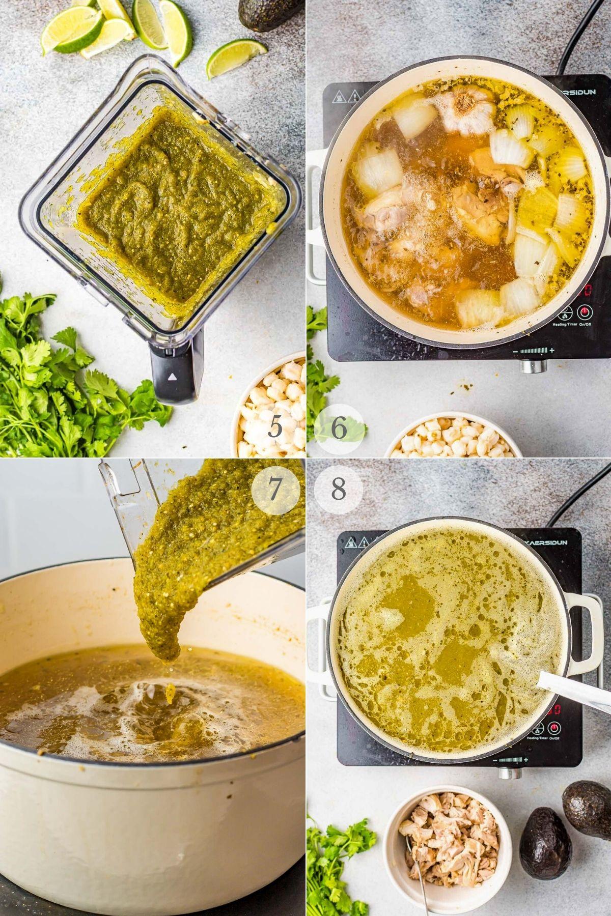 green pozole recipe steps 5-8