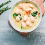 Chicken Gnocchi Soup title